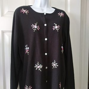 Gorgeous soft embroidered cardigan